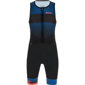 Santini Ferox Kombinezon triathlonowy bez rękawów Mężczyźni, space blue